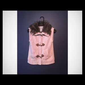 Pink Republic... Girl's sweater vest